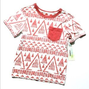 Genuine Kids Osh Kosh Aztec T-Shirt Boys 5T